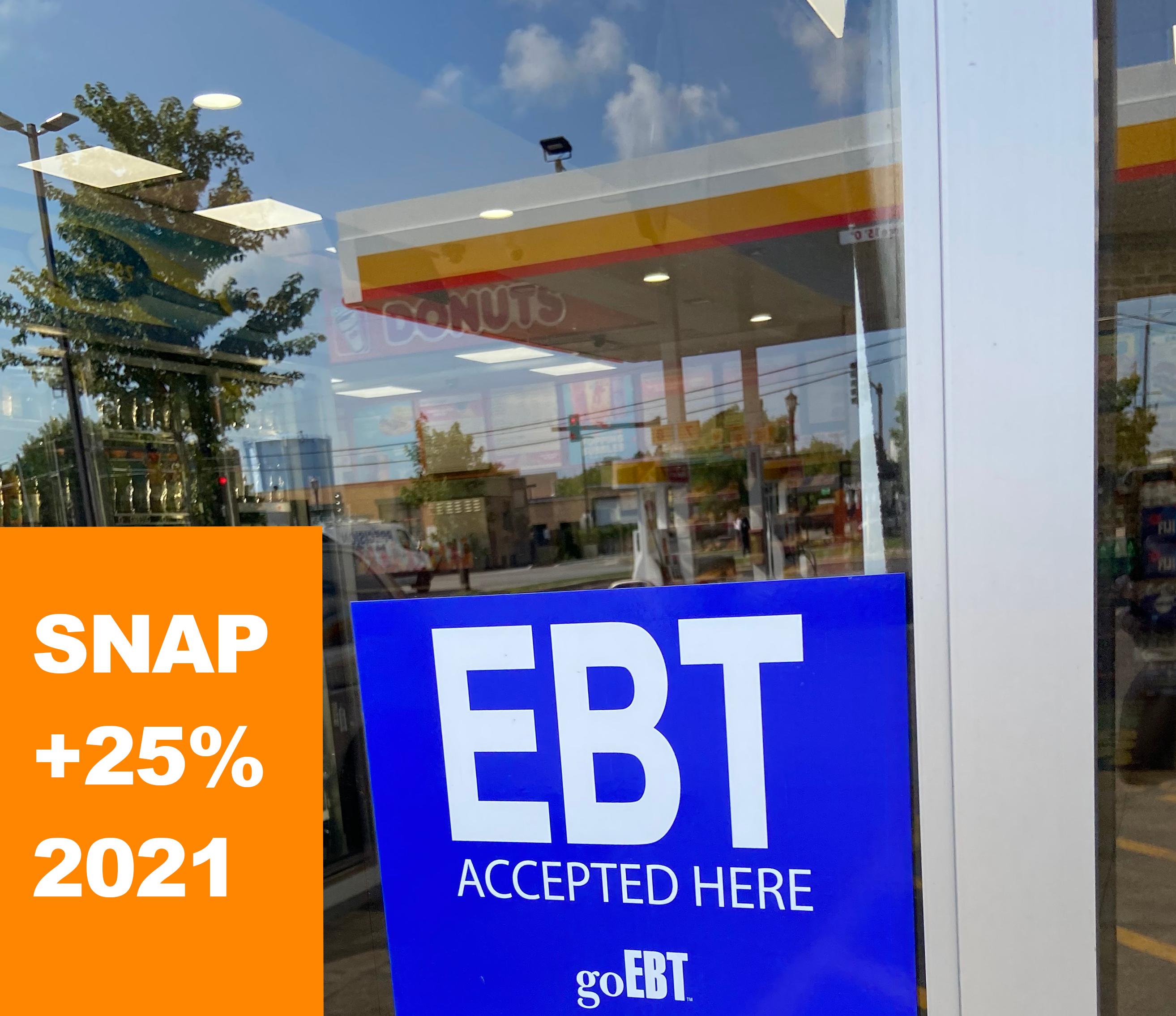 EBT accepted here sign from goEBT in store